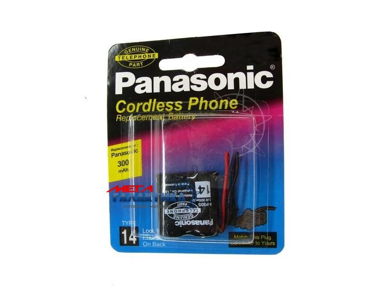 Panasonic P 305S/1B, 2,4 V, 300 mAh  Ni-Cd/цена за шт./ Фото товара №1