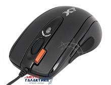 Мышка A4Tech X-718BK  USB 3200 dpi Black