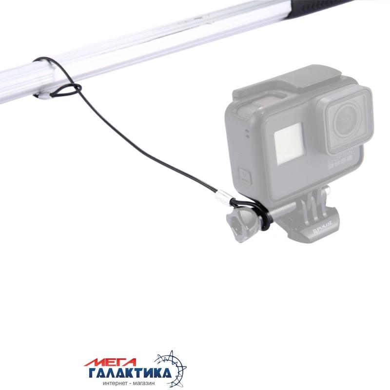 Трос для GoPro Hero/2/3/3+/4 Megag ST-150 12-дюймовый страховочный  Black OEM Фото товара №2