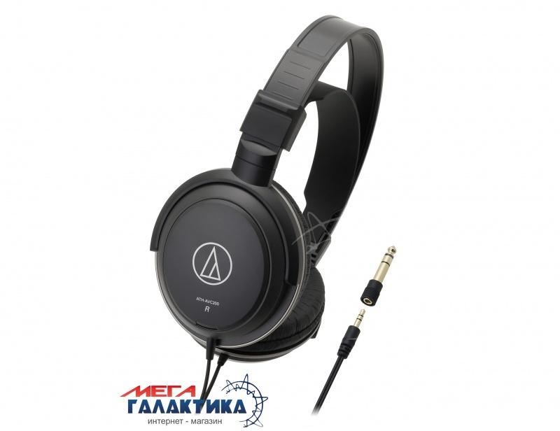 Наушники Audio-technica ATH-AVC200 Black (AT061200AVC) Фото товара №1