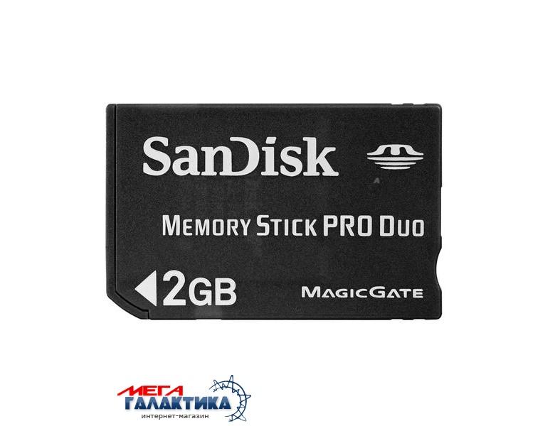 Карта памяти SanDisk Memory Stick Pro Duo 2GB   Фото товара №1