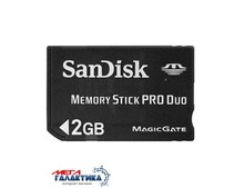 Карта памяти SanDisk Memory Stick Pro Duo 2GB