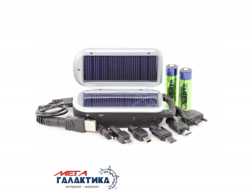 Зарядное устройство для аккумуляторов AA Varta Solar Charger (57082101421) (+2xAA 2100 mAh) Фото товара №1