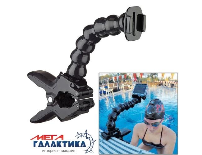 Крепление для GoPro Hero/2/3/3+/4 TMC гибкое с прищепкой  Black OEM Фото товара №1