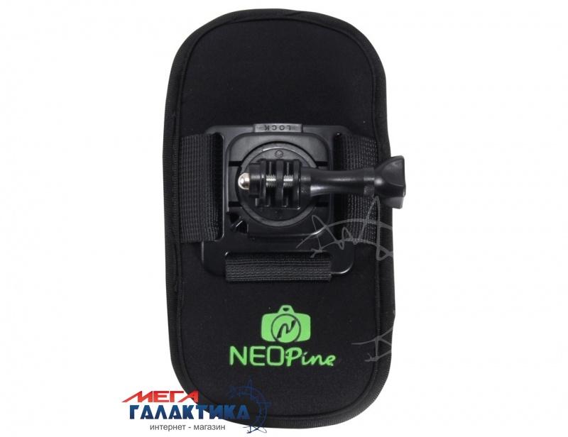 Крепление для GoPro Hero/2/3/3+/4, Xiaomi Yi Megag  на поясной/плечевой ремень  Black OEM Фото товара №1
