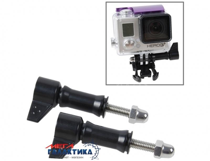 Винт для GoPro Hero/2/3/3+/4 Megag HR213 (усиленный L-образный винт)  Black OEM Фото товара №1