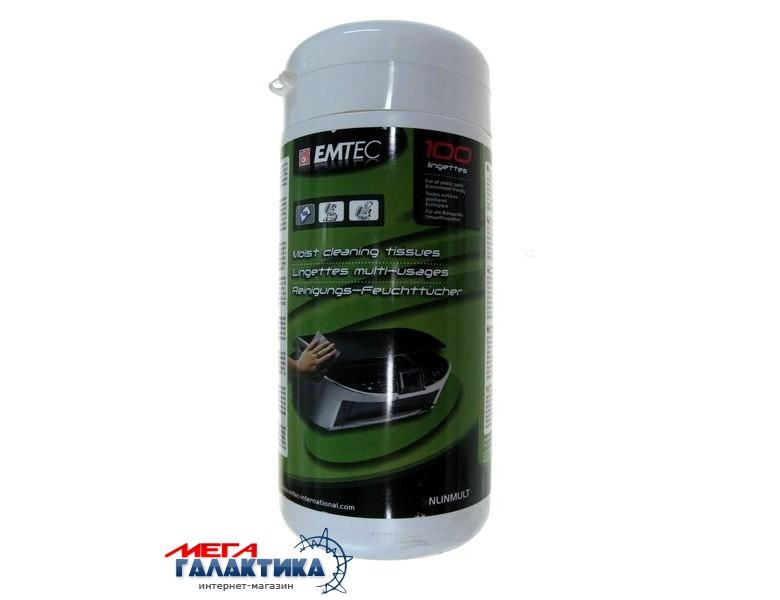 Emtec Cалфетки в банке для оргтехники  100 шт  NLINTMULT Фото товара №1