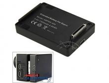 Аккумулятор для GoPro Hero2/3/3+/4 Megag Дополнительный 3.8V 1300mAh  Black OEM