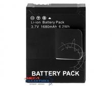 Аккумулятор для GoPro Hero3/3+ Megag для моделей AHDBT-301/302 3.7V 1680mAh  Black Box