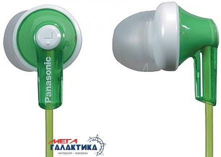 Наушники Panasonic RP-HJE118GU-G Green (6054967)