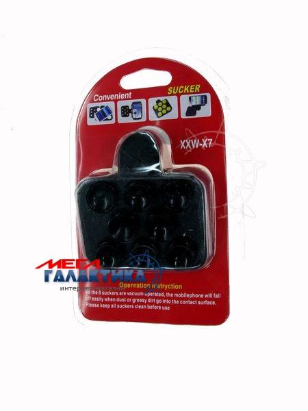 Автодержатель на стекло для планшета Megag Универсальный Вакуумная присоска Black Фото товара №2
