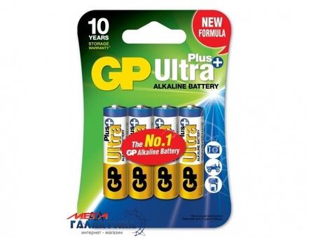 Батарейка GP AA Ultra Plus 1.5V Alkaline (Щелочная) (15AUP-2E4)