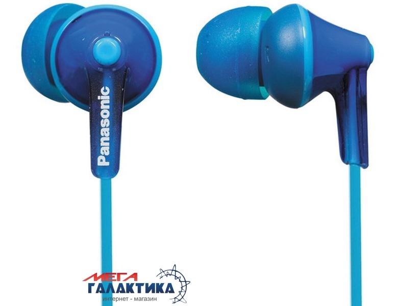 Наушники Panasonic RP-HJE125E-A Blue (6028980) Фото товара №1