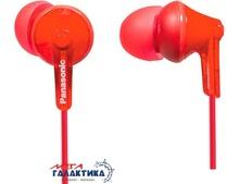 Наушники Panasonic RP-HJE125E-R Red (6028987)