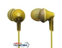 Наушники Panasonic RP-HJE125E-Y Yellow (6040400)