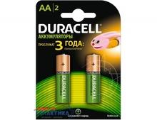 Аккумулятор Duracell AA NiMh 1300 mAh 1.2V