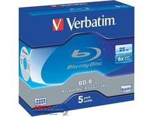 Диск BD-R Verbatim  25GB 6x 43715