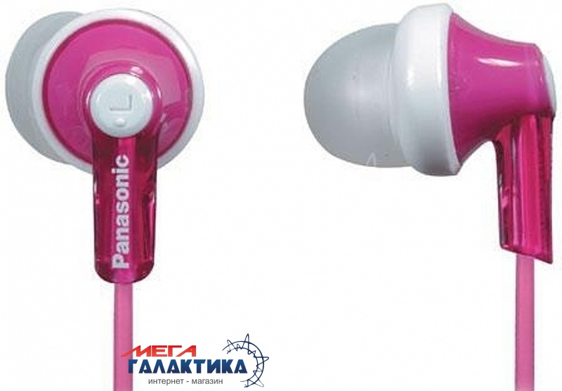 Наушники Panasonic RP-HJE118GU-P Pink (6054954) Фото товара №1