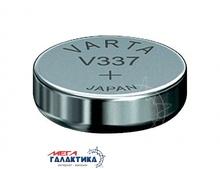 Батарейка Varta V337 (Часовая) 7.5 mAh 1.55V Silver Oxide (337101111)