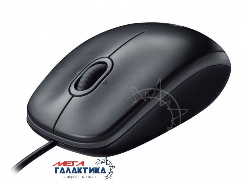 Мышка Logitech B100 (910-003357) USB  800 dpi  Black  Фото товара №1