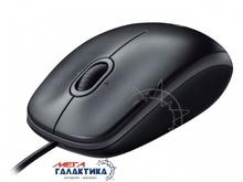 Мышка Logitech B100 (910-003357) USB  800 dpi  Black