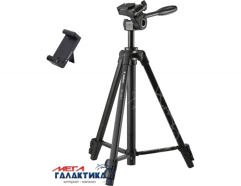 Штатив для фото-/видеокамер Velbon® EX-230, max 122cm min 94.7cm., 2 kg, чехол Фото товара №1