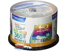 Диск BD-RE Verbatim Japan 50GB 4x VLR130YP50V1