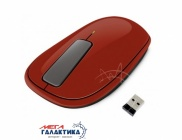 Мышка Microsoft Explorer Touch Rust U5K-00016 Wireless+USB 1000 dpi Red