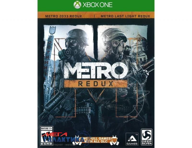 Игра Metro: Redux  (Xbox One, английская версия) Фото товара №1
