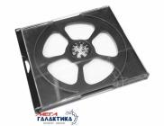CD Box JEWEL на 4 диска  White,  Прозрачный