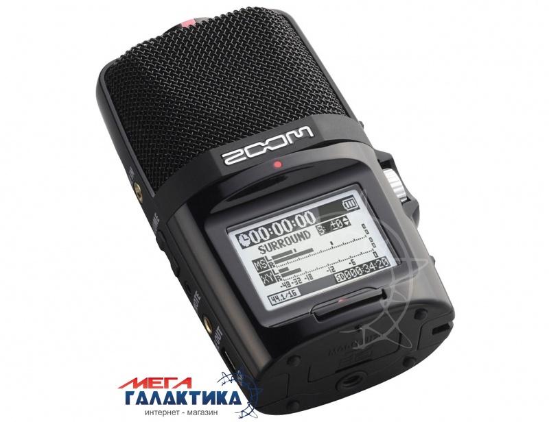 Диктофон Zoom H2n + комплект аксессуаров Нет встроенной памяти  Black Фото товара №1