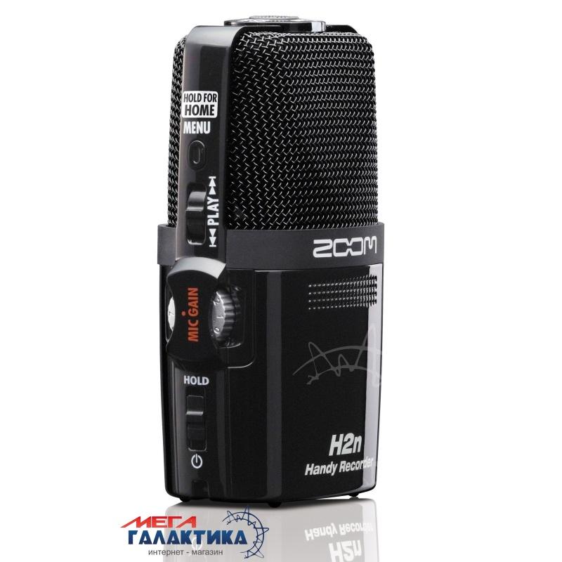 Диктофон Zoom H2n + комплект аксессуаров Нет встроенной памяти  Black Фото товара №2