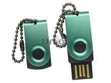 Флешка Uniq USB 2.0 ОФИС микро, зеленый 4GB (04C35027U2)