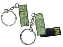 Флешка Uniq USB 2.0 ФАКТУРА НИТИ зеленый 4GB (04C35114U2)