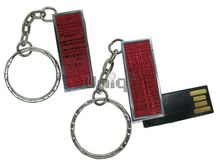 Флешка Uniq USB 2.0 ФАКТУРА НИТИ красный 4GB (04C35115U2)