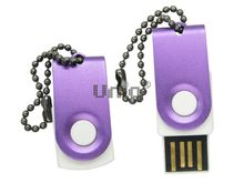 Флешка Uniq USB 2.0 ОФИС микро, фиолетовый 4GB (04C35116U2)