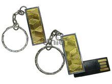 Флешка Uniq USB 2.0 ФАКТУРА НИТИ Погон золотой 4GB (04C35119U2)