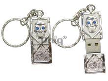 Флешка Uniq USB 2.0 ПИРАТСКАЯ СИМВОЛИКА серебро 4GB (04C35142U2)
