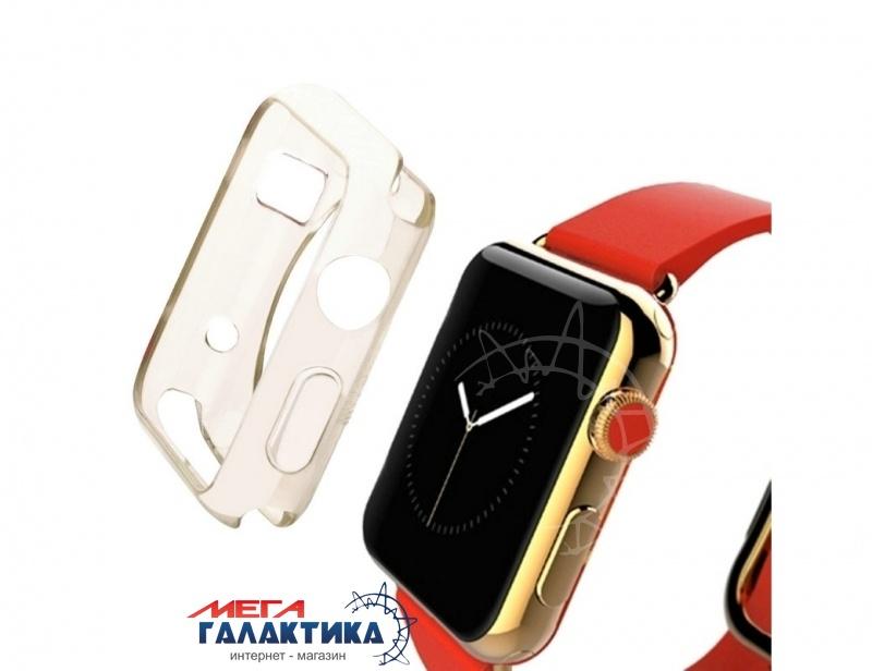 Защитный чехол HAWEEL 42 мм для Apple Watch  Gold Силикон Фото товара №1