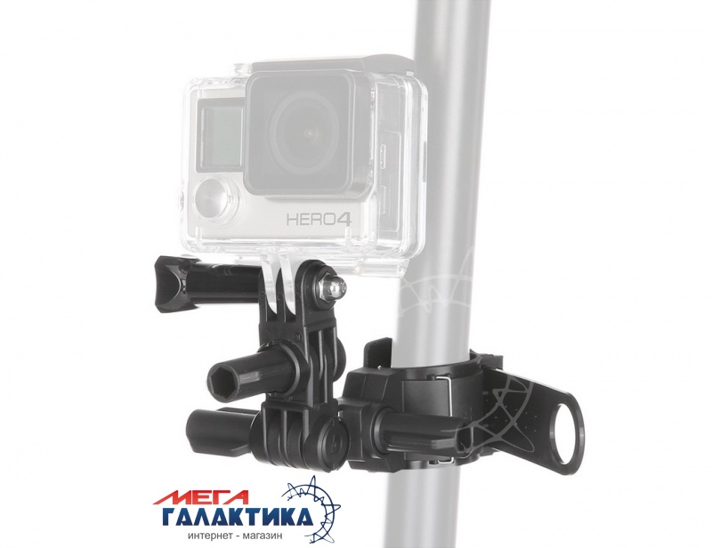 Крепление для GoPro Hero/2/3/3+/4 Megag DZ-SG4 Roll Bar Mount  Black OEM Фото товара №1