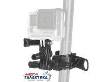 Крепление для GoPro Hero/2/3/3+/4 Megag DZ-SG4 Roll Bar Mount  Black OEM