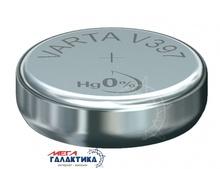 Батарейка Varta V397 WATCH (Часовая) 30 mAh 1.55V Silver Oxide (397101111)