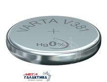 Батарейка Varta V381 (Часовая) AG8 40 mAh 1.55V Alkaline (Щелочноя) (381101111)