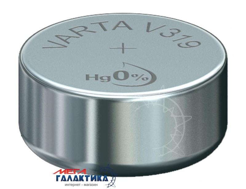 Батарейка Varta V319 (Часовая) 20 mAh 1.55V Silver Oxide (319101111) Фото товара №1