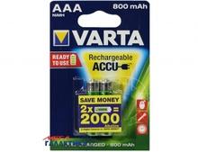 Аккумулятор Varta AAA  800 mAh 1.2V NiMh (56703101402)