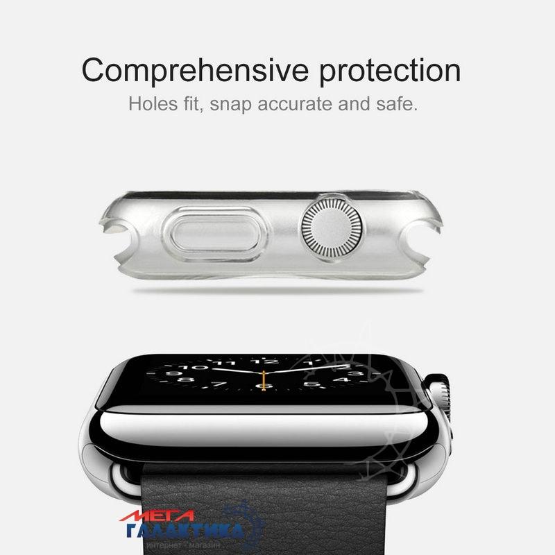 HAWEEL Защитный чехол Apple Watch 38mm, (серый) Фото товара №2