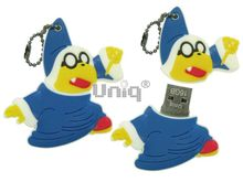 Флешка Uniq USB 2.0 ВОЛШЕБНИК, синий 4GB (04C37664U2)