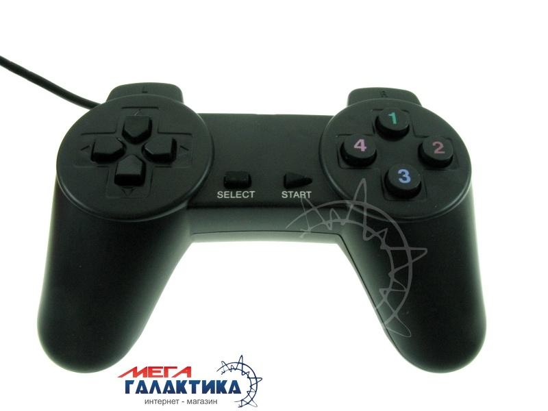 Джойстик Megag Game Pad USB-701 USB 14 OEM  Black Фото товара №1