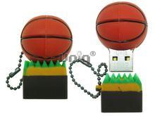 Флешка Uniq USB 2.0 МЯЧ ДЛЯ Баскетбола на поле 4GB (04C37999U2)