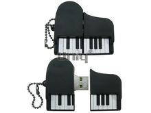 Флешка Uniq USB 2.0 Рояль черная 4GB (04C38000U2)